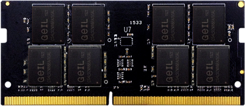 8GB (4GB*2) GEIL SO-DIMM DDR4 PC4-19200 2400MHz, CL17 1.2V, Dual Channel