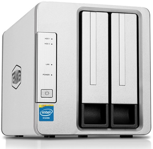 TerraMaster F2-221 2-Bay NAS for Small Business
