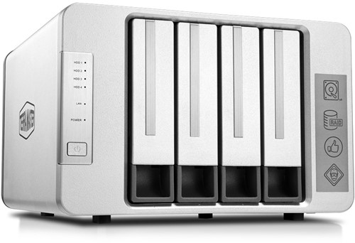 TerraMaster F4-210, high-performance 4-bay NAS