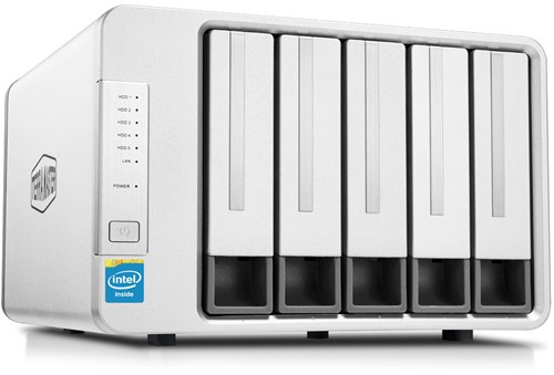 TerraMaster F5-221, high-performance 5-bay NAS