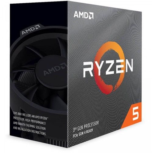 AMD Ryzen 5 3600 4 Processor 2GHz AM4 35MB Cache Wraith Stealth