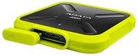1TB External SSD, USB 3.1, SD700, Yellow-2