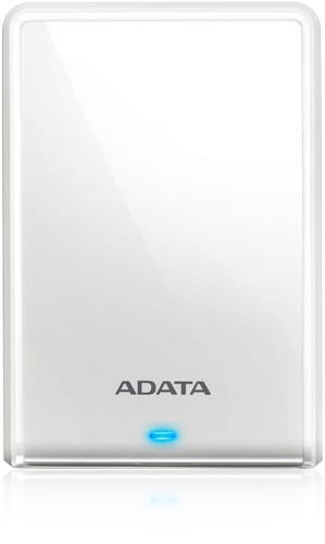 2TB Portable Hard Disk, USB 3.0, ADATA DashDrive, White