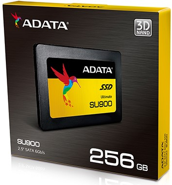 "256GB SSD 2.5"" ADATA ULTIMATE SU900 3D NAND Flash"