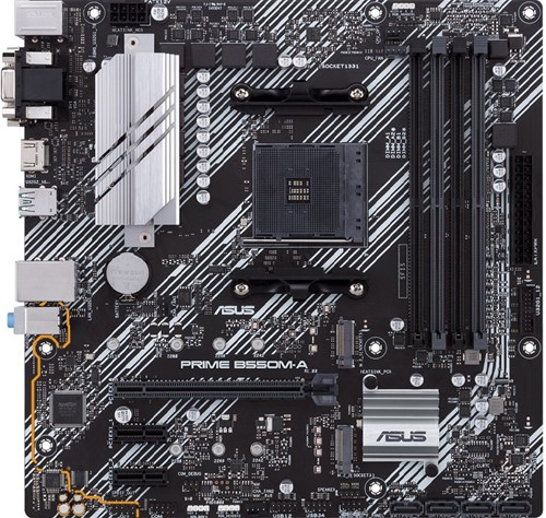 ASUS AMD AM4 PRIME B550M-A Motherboard