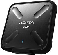 256GB External SSD, USB 3.1, SD700, Black-2