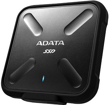 1TB External SSD, USB 3.1, SD700, Black