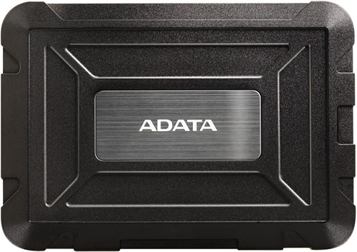 ADATA ED600 HDD/SSD Enclosure, Black