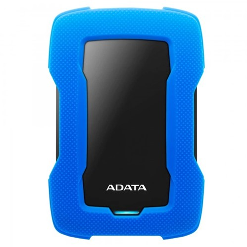 2TB Portable Hard Disk, USB 3.2, ADATA HD330, Blue