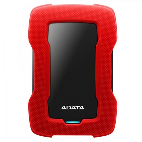 1TB Portable Hard Disk, USB 3.2, ADATA HD330, Red