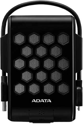 2TB External Hard Disk, USB 3.2, ADATA HD720, Black