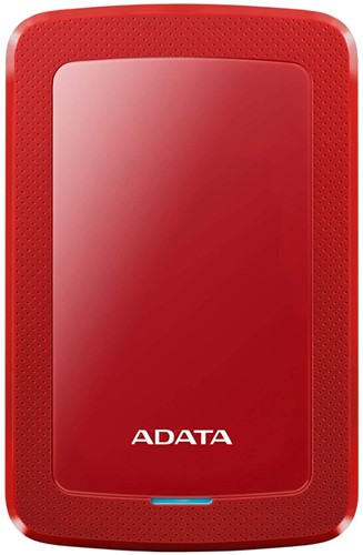 4TB Portable Hard Disk, USB 3.2, ADATA HV300, Red