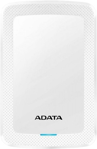 4TB Portable Hard Disk, USB 3.2, ADATA HV300, White