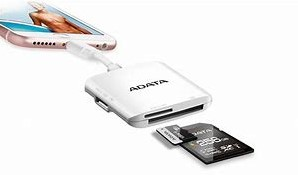 ADATA Lighting Cardreader SD/MicroSD for Mac-2