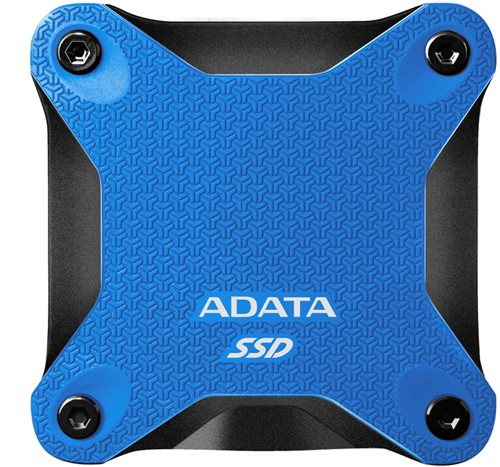 480GB External SSD, USB 3.2, SD600Q, Blue