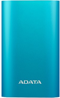 ADATA Powerbank 10050mAh, with quick charge function, Blue