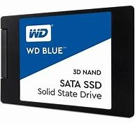 "Western Digital Blue SSD 500GB 2.5"" 7mm SATA III 6GB/s 3D Nand Flash"