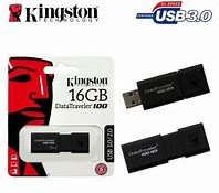 16GB USB Flash Disk Drive, Kingston Datatraveller 100 G3, USB 3.0