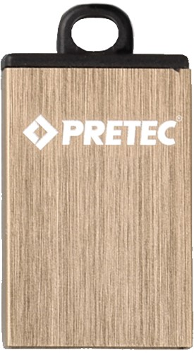 32GB USB 2.0 Flash Disk Drive, Pretec i-Disk Elite Gold