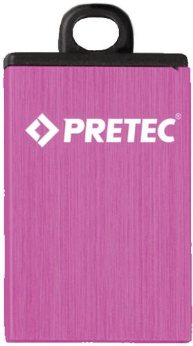 32GB USB 2.0 Flash Disk Drive, Pretec i-Disk Elite Pink