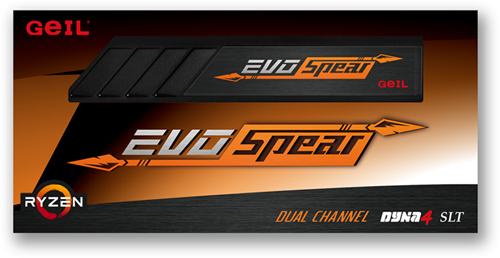 16GB GEIL EVO SPEAR Series DDR4 PC4-19200 2400MHz, CL16 Single Channel, Black-2