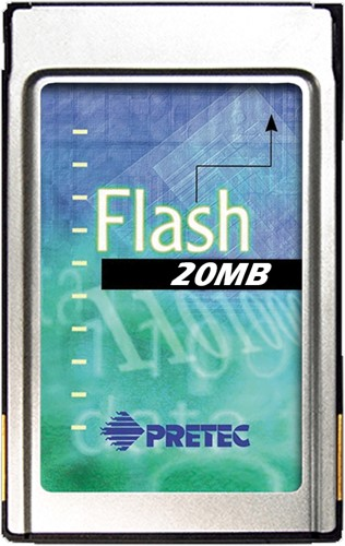 20MB Linear Flash Card, Series II