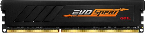 4GB GEIL EVO SPEAR Series DDR4 PC4-21330 2666MHz, CL16 Single Channel, Black