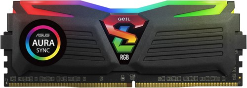 4GB GEIL Super Luce RGB Lite Series DDR4 PC4-17000 2133MHz, CL15 Single Channel, Black