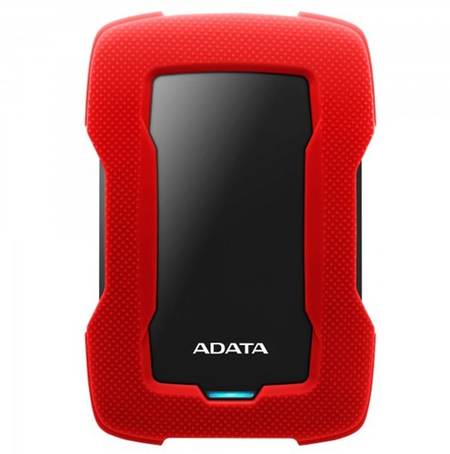 1TB Portable Hard Disk, USB 3.1, ADATA HD330, Red