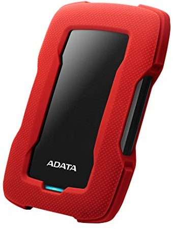 2TB Portable Hard Disk, USB 3.1, ADATA HD330, Red-2
