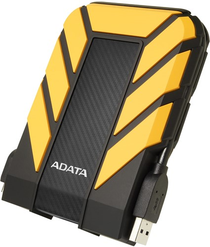 1TB External Hard Disk, USB 3.1, ADATA HD710 PRO, Yellow-2