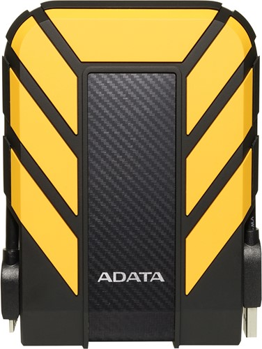 2TB External Hard Disk, USB 3.1, ADATA HD710 PRO, YELLOW