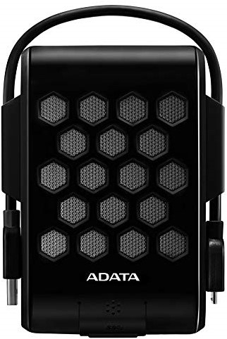 2TB External Hard Disk, USB 3.0, ADATA HD720, Black