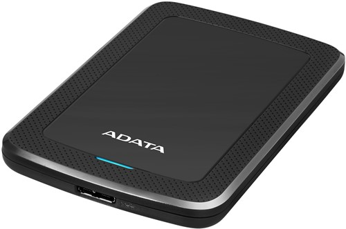 2TB Portable Hard Disk, USB 3.1, ADATA HV300, Black-2