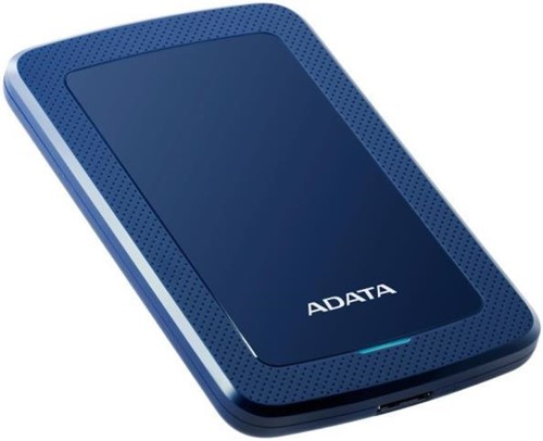 1TB Portable Hard Disk, USB 3.1, ADATA HV300, Blue-2