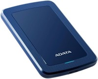4TB Portable Hard Disk, USB 3.1, ADATA HV300, Blue-2
