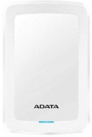 4TB Portable Hard Disk, USB 3.1, ADATA HV300, White