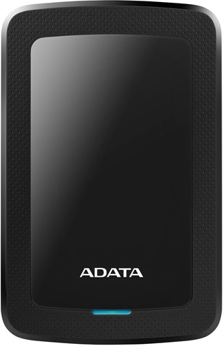 2TB Portable Hard Disk, USB 3.1, ADATA HV300, Black
