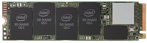 Intel SSD 660P Series 512GB M.2 80MM NVMe / PCIE 3.0 X4, 3D2, QLC