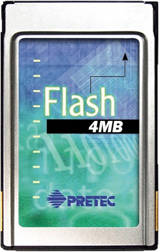 4MB Linear Flash Card, AMD Series C, 16 bit