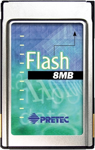 8MB Linear Flash Card, AMD Series D