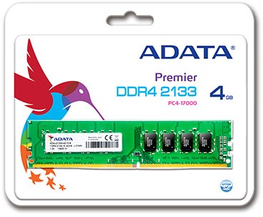 4GB Memory upgrade, UDIMM DDR4, 2133MHz, C15,
