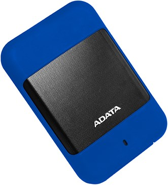 2TB External Hard Disk, USB 3.0, ADATA HD700, Blue
