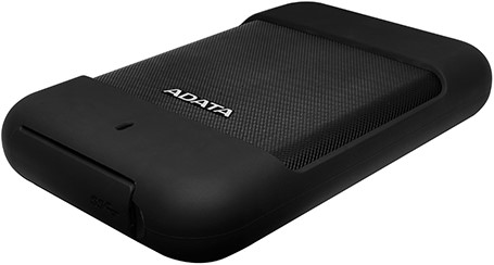 2TB External Hard Disk, USB 3.0, ADATA HD700, Black