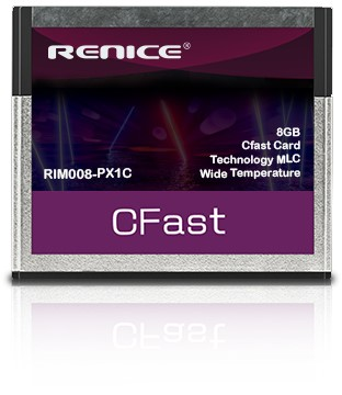 8GB Cfast Card Renice Technology MLC, Wide Temperature