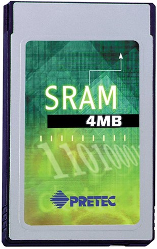 4MB SRAM Card-Type II-Metal