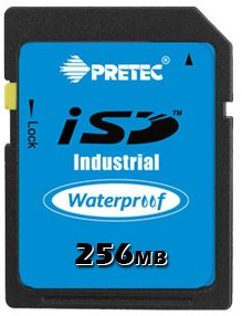 256MB Wide Temp Industrial SD Card