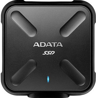 256GB External SSD, USB 3.1, SD700, Black