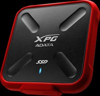 256GB External SSD, USB 3.1, SD700X, Red-2