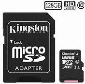 128GB microSDHC Kingston Canvas Select 80R CL10 UHS-I Card + SD Adapter